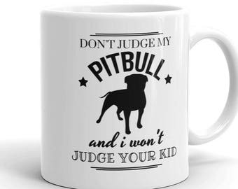 Don/'t Judge My Pit Bull and I Won/'t Judge Your Kids Women/'s Tank Top Funny Dog Breed Gift for Dog Lovers Pet Owner Gift Andy Maxx