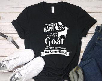 75f663e281f38 Funny Goat T-Shirt