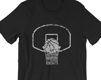 1f78839f19f3f7 Backboard and Basketball Tee Shirt