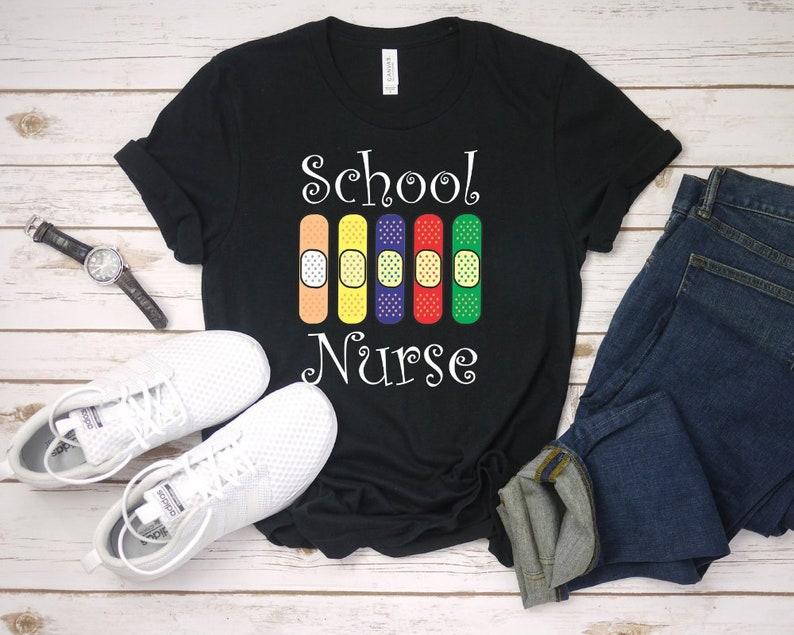 5c8a9fd9c5 School Nurse Unisex TshirtFunny registered nurseSchool Nurse | Etsy