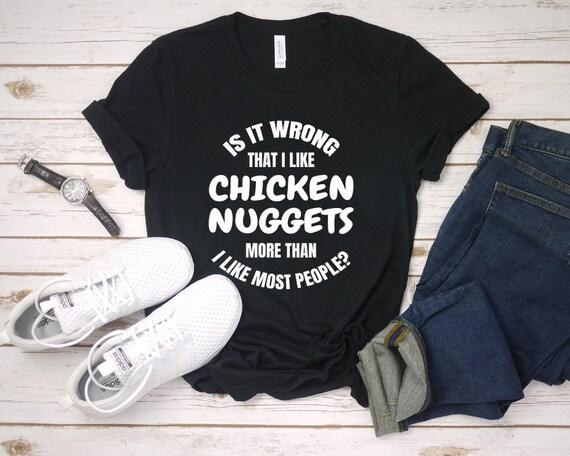 I/'M NOT A NUGGET WOMENS T-SHIRT Vegetarian Vegan Veggie Gift Present Sz S-XL