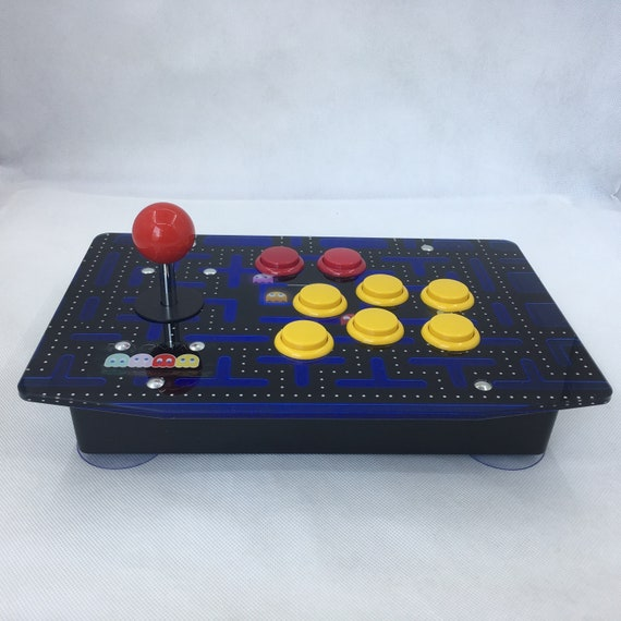 Raspberry Pi Arcade Game Retro Console Joystick All In One Games  Preinstalled Fully Assembled Plug & Play - PAC-Man Style