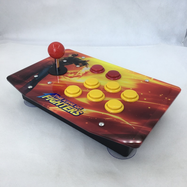 Raspberry Pi Arcade Game Retro Console Joystick All In One Games  Preinstalled Fully Assembled Plug & Play - KOF Style