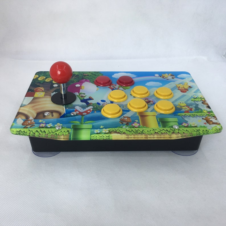 Raspberry Pi Arcade Game Retro Console Joystick All In One Games  Preinstalled Fully Assembled Plug & Play - Super Mario Style