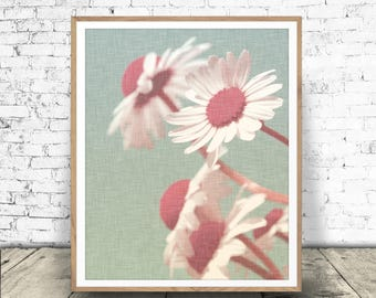 Printable Flower Art, Floral Prints, Modern Home Decor, Flower Print, Flower Art, Digital Download, Nature Decor, Nature Photo, Flower Print