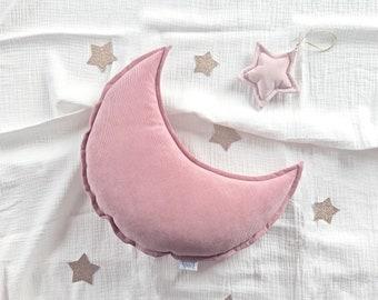 Velvet moon pillow | Etsy