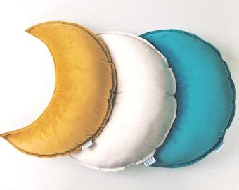 Velvet moon pillow   Etsy