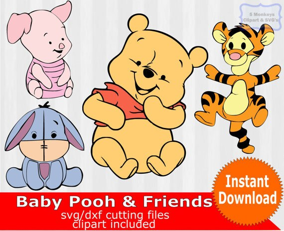 751e7c3855b1 Baby Winnie the Pooh and friends baby winnie the pooh