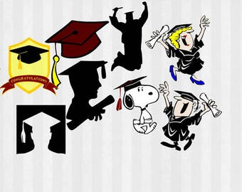Graduation SVG Files bundle, Grad svg, graduation clipart, grad clipart, diploma svg, graduation cap svg, graduate svg, graduation cap