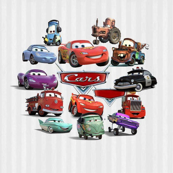 Cars Designs 15 Cars Images Disney Cars Lightning Mcqueen Etsy