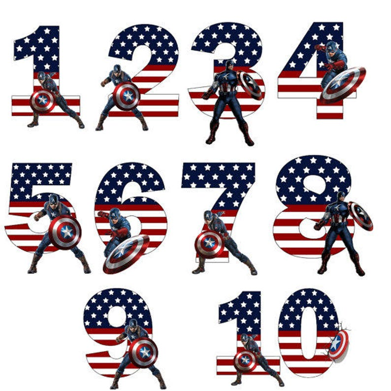 image relating to Captain America Printable identify Captain The usa Birthday Printable Iron Upon Move or Retain the services of as Clip Artwork- Do it yourself Captain The united states Blouse- Captain The us Birthday Blouse, superhero