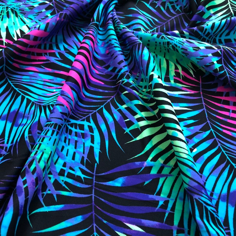 Nylon Lycra Fabric 4Way Strech Spandex By Yard