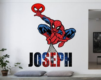 Wall or Window Decal SPIDER #3 Large