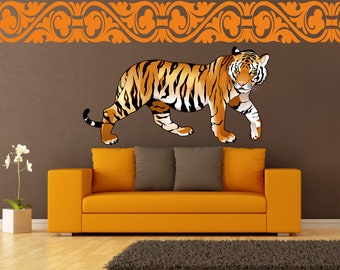 Tiger wall decal sticker wallart quote