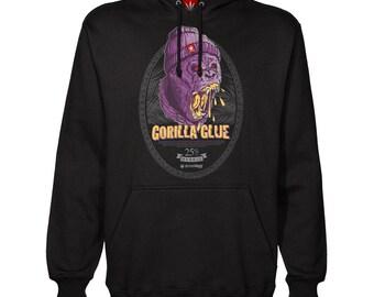 76e4c719 Gorilla Glue Hoodie. Gorilla Glue Hoodie. Gorilla Glue Pullover. Gorilla  Glue. Gorilla Hoodie. StonerDays. Purple Hoodie. Marijuana.