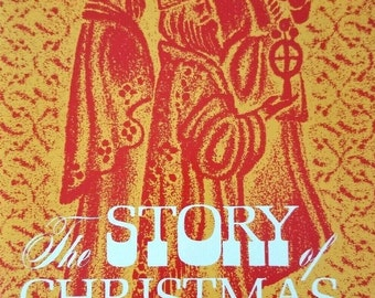 The Story of Christmas J. W. Peterson Music 1971 SATB Choir Sheet Music Book Vintage Christian Music Book Song Book