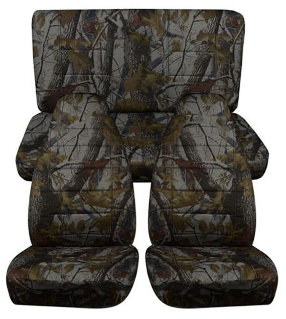 Superb Fit 97 02 Jeep Wrangler Tj Complete Seat Cover Set Made By Designcovers In Green Tree Camo Gmtry Best Dining Table And Chair Ideas Images Gmtryco