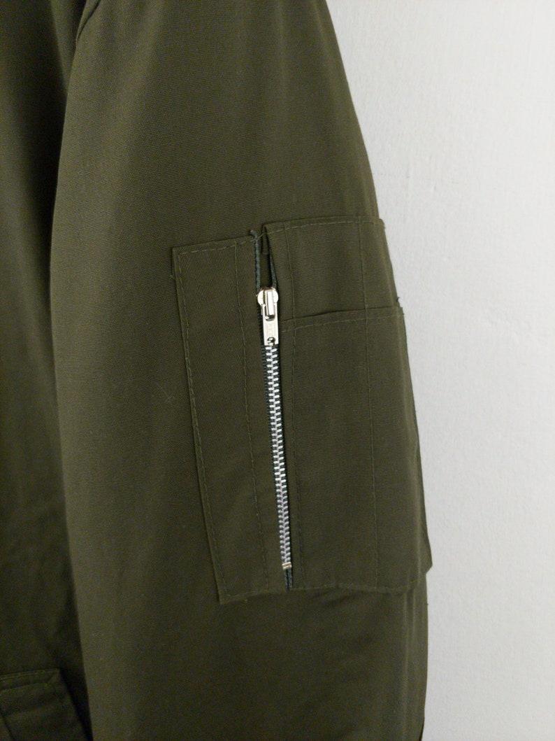 xL XLarge c\u2014s \u2022 Vtg VINTAGE Israeli IDF MILITARY Parka Made in Israel Jacket Coat Rare European Vintage \u53e4\u7740 Sportswear Streetwear Workwear