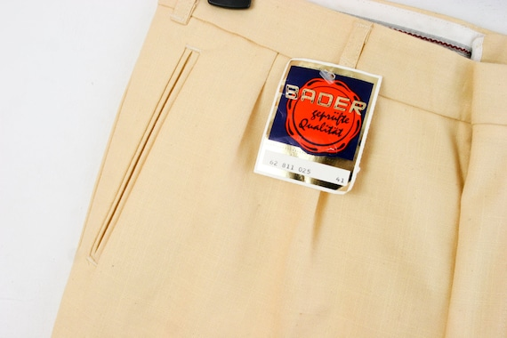 c—s • NEW! BADER • 70s 80s West Germany Pants Slac