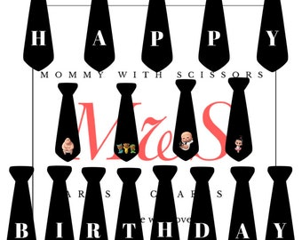 Boss Baby Party Banner