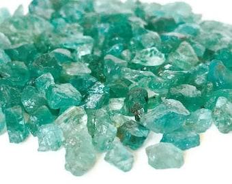Rough Apatite Crystals Raw Blue Green Lot Bulk Wholesale