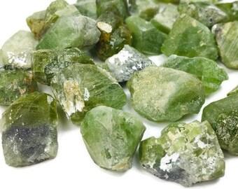 Raw Peridot, Peridot Crystal, Rough Peridot, Raw Crystals, Green Peridot, Peridot Stone (ONE) Single Loose Peridot Gemstone NATURAL