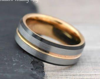 Wedding Ring For Men.Mens Engagement Ring Etsy