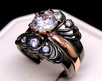One-of-a Kind Engagement/Wedding Ring.