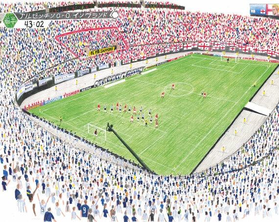 England v Argentina. Sapporo. 2002.