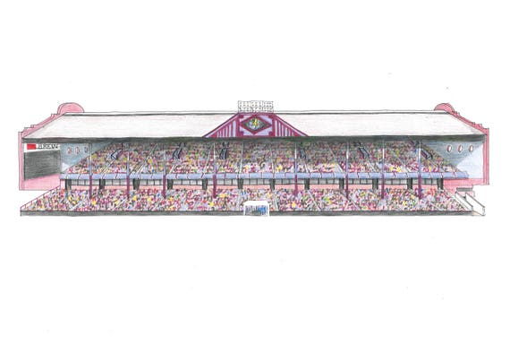 The Trinity Stand at Villa Park