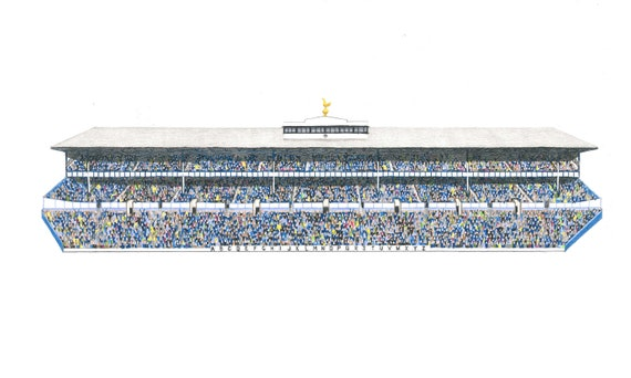 The East Stand at White Hart Lane