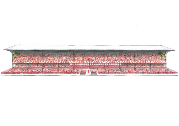The Main Stand at Roker Park