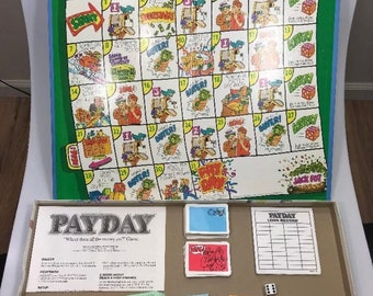 Payday board game | etsy.