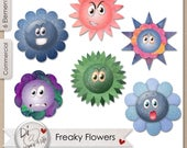 Freaky Flowers, Transpare...
