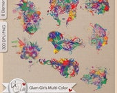 Glam Girl Multi-Color Sil...