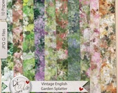 Digital Background Papers | Vintage Splatter  Digital Papers, Commercial Use, Wedding invites, Newborn Photography, Digital Scrapbooks
