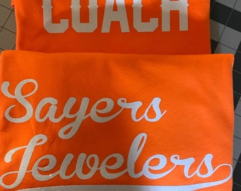 Coach/Team Mom Shirts