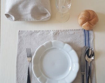 Set and Bread Table