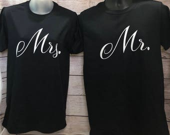 Mr. and Mrs. soft tee