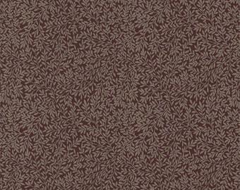 William Morris Standen Woven fabric Per Meter Brown