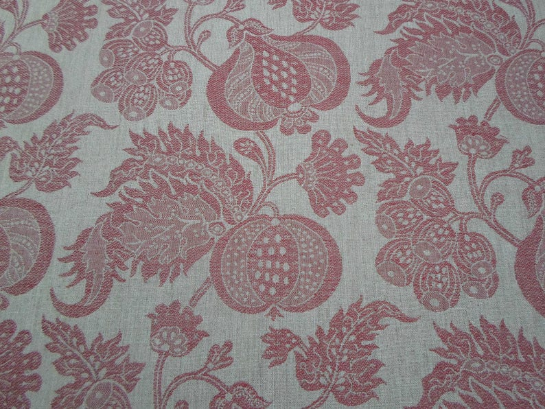 Sanderson China Blue Design Pemberley Weaves Fabric Traditional 18th Century