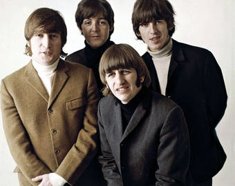 Beatles 5, Celebrity Art Prints, All profits donated to TheirForeverHome.org