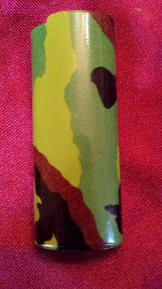 Vintage~Military Green Camouflage~Cigarette~Tobacc