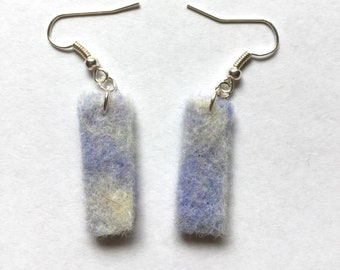 Tinytangle Dreamy Felted Earrings