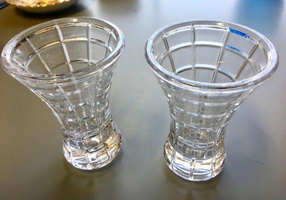 Vintage Mikasa Bud Vases Mikasa Clear Glass Flower Vase In