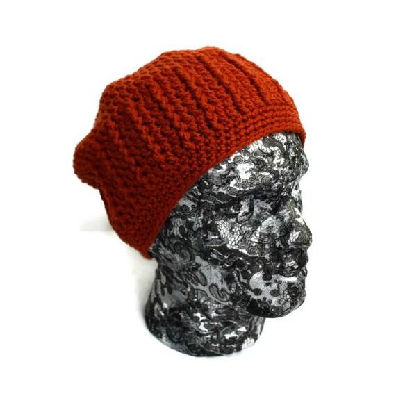 1f5bc9135fe Copper Beanie For Men Unisex Winter Hat Burnt Orange Hat