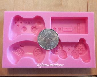 4pc game controller mold