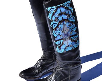 Vintage Women's Equestrian Leather Boots