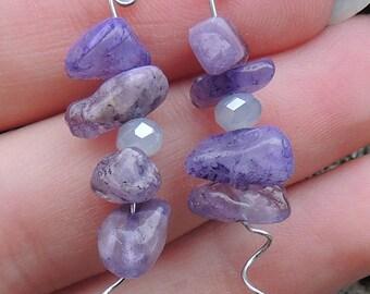 Amethyst Charm earrings