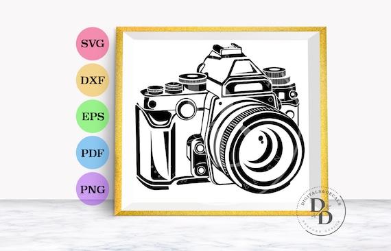 eps, svg, pdf, png, dxf, jpeg Cut files for Cricut Clip Art silhouettes . Compact digital camera